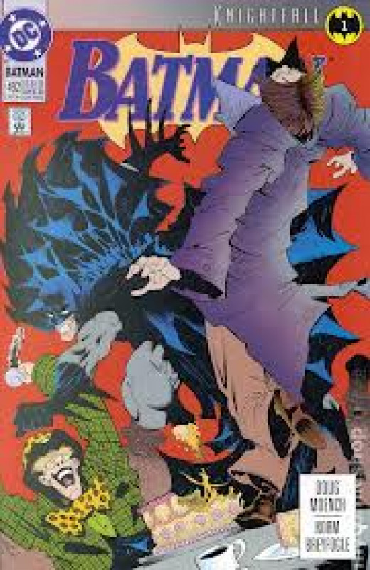 Look for new series that may catch on and prove big. This was the start of the Knightfall series.