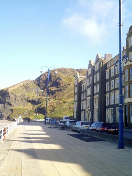Aberystwyth Promenade.
