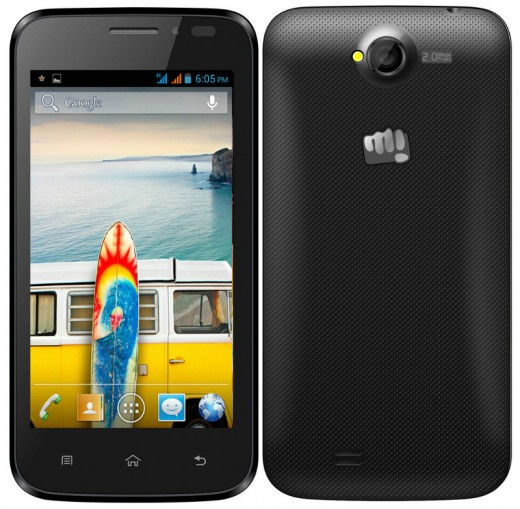 The latest Micromax Bolt A66