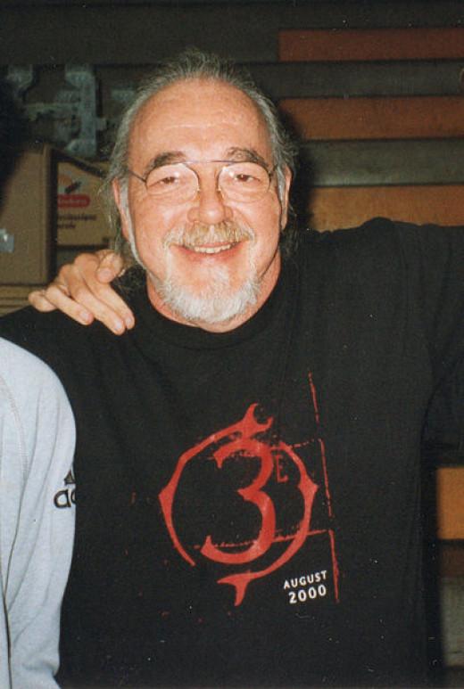 Photo of the late Gary Gygax taken by Moroboshi in 1999