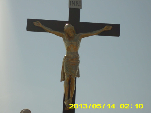 Statue of,Jesus on the Cross, taken by Debra Wilson