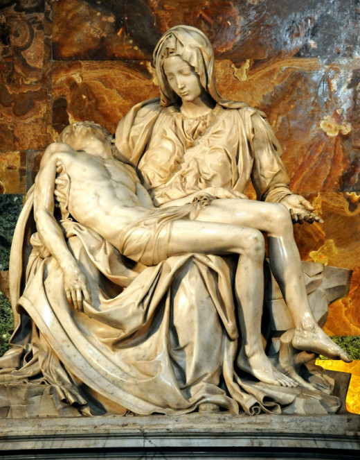 Michelangelo's Pietà, which was displayed at the Vatican Pavilion, has returned to St. Peter's Basilica in Vatican City.. .