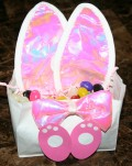 How to Upcycle Bunny Ear Costumes into Beautiful Party Favor Bags
