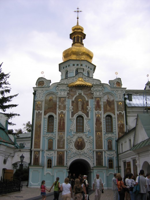 The Gate Church of the Trinity (Pechersk Lavra)