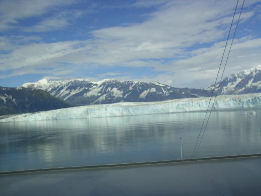 The Hubbard glacier