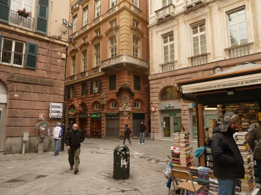 Old Genoa streets