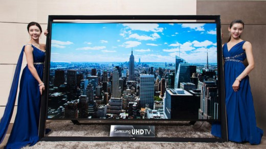 "Unveling the new 110"" UHD TV"