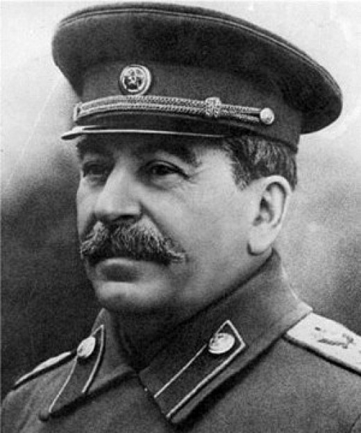Stalin or Ioseb Besarionis Dze Jugashvili, the man responsible for at least 25million deaths.