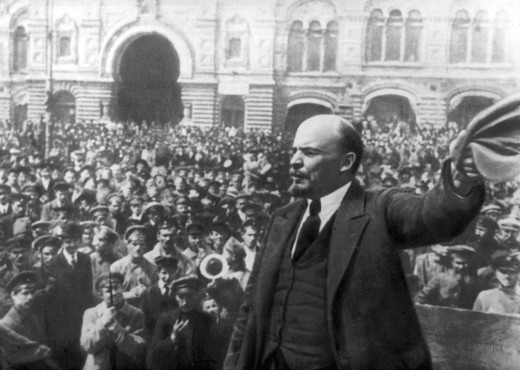 Lenin - the founder of Communist Russia