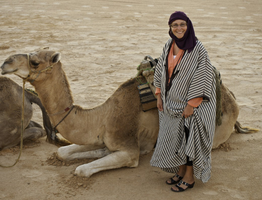 No time to explain. Quick, Zipporah, get on the camel!