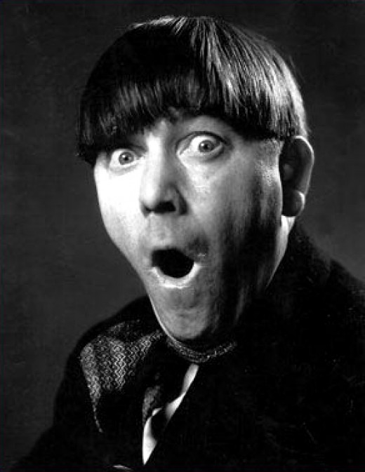 Publicity Photo of Moe Howard in 1933.