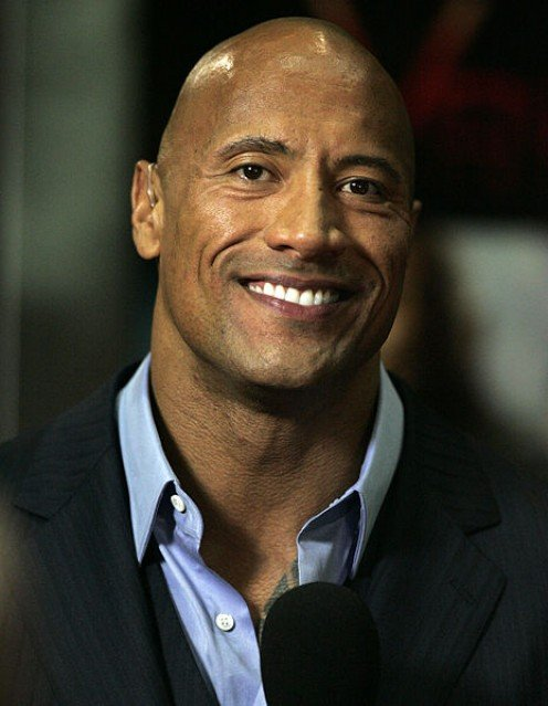 Photo of Actor Dwayne Johnson