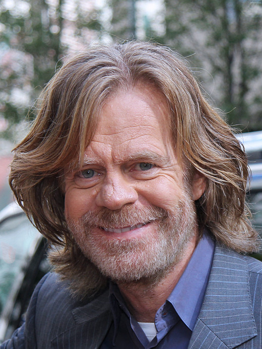 William H Macy is Frank Gallagher on Shameless