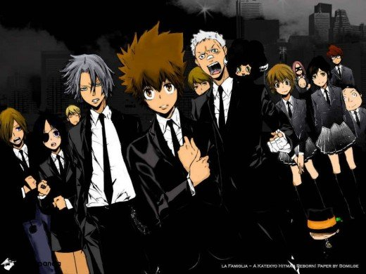 Tsunayoshi and his Guardians