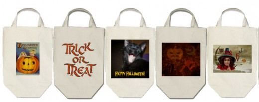 Tough cotton twill bags that will last for years to take Trick or Treating. Check these out by clicking on the source link.