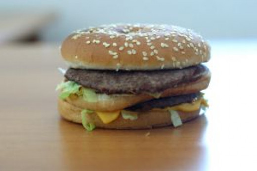 Big Mac. This one is rather sloppy and shorter than usual.