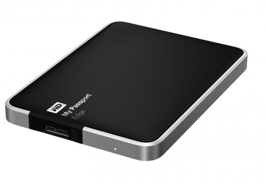 WD My Passport Edge for Mac 500GB Portable USB 3.0 External Hard Drive Storage