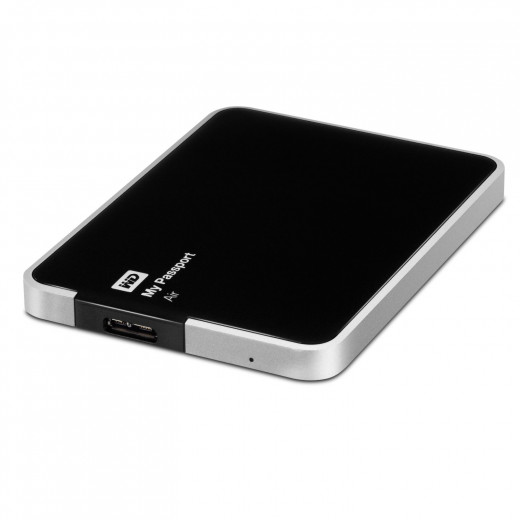 WD My Passport Air 1 TB for Mac: Portable, USB 3.0, Ultra-Slim, All Metal Hard Drive