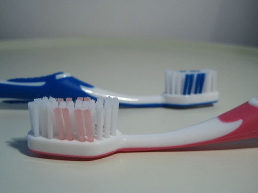 Toothbrushes have a lot of uses, including removing hickeys fast.