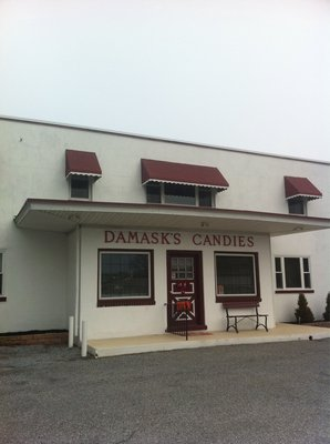 Damask has been making candy for so many years.  Located in Swedesboro NJ.  One of my very favorite stores.