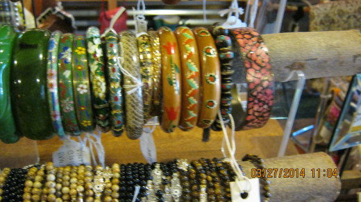 Decorative Bracelets, photo taken by Victoria Moore