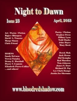 Night to Dawn magazine.