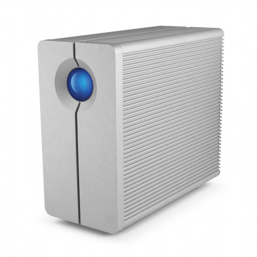 LaCie 2big Thunderbolt 8TB External Hard Drive with Cable