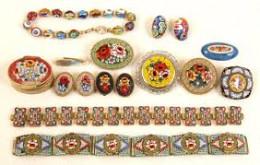 sample of micro mosiac jewelry