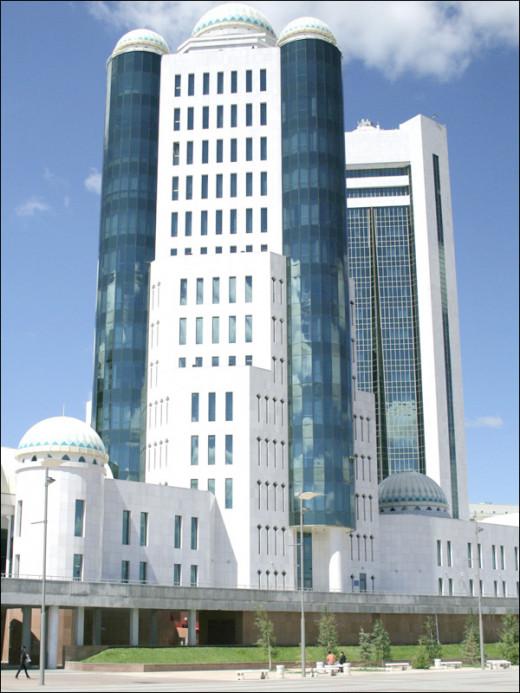 kazakhstan Parliament Building