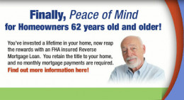 This image is from an article about the risks of reverse mortgage. This article explains why it is better to get a line of credit than to get the money in one lump sum.