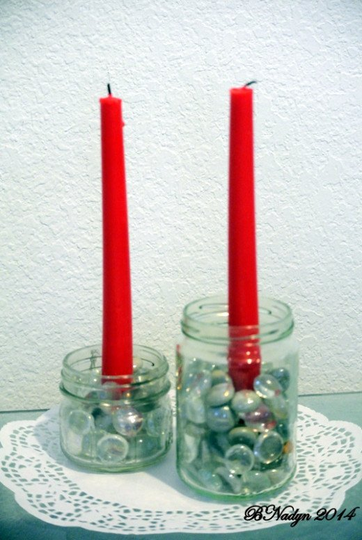 Decorate the jars to match the theme of the party.