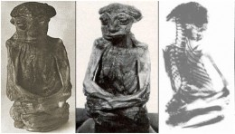The mummy that was found in the San Pedros Mountains is missing today.