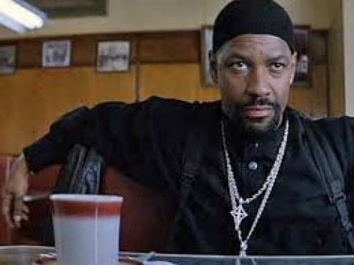 "Actor, Denzel Washington starred in a famous cop flick, ""Training Day,"" with co-star, Ethan Hawke."