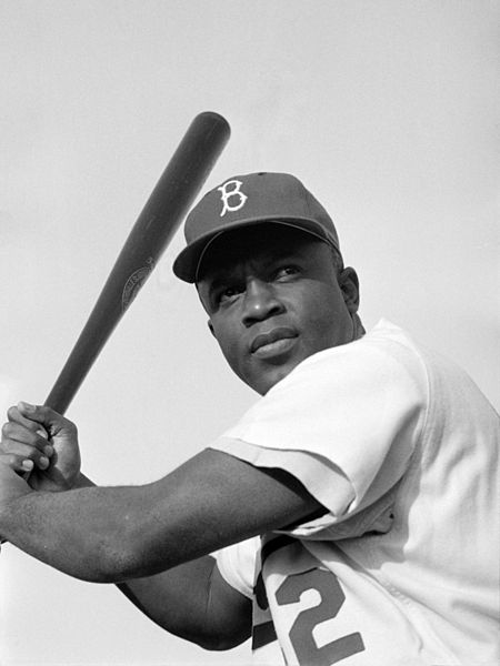 Jackie Robinson who broke baseball color barrier has also been a frequent subject of songs.