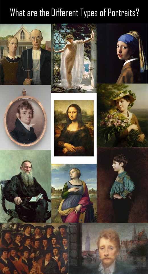 Rich Gallery of Portrait Paintings