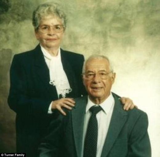 Eleanor and Frank Turner, 50th Wedding Anniversary