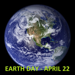 Celebrate Earth Day by Recycling and Conserving Energy