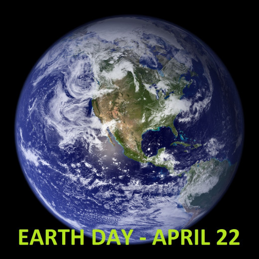 Earth Day is April 22nd