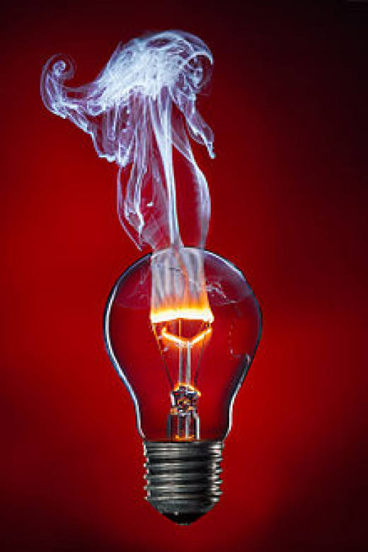 Incandescent Light Bulb, Picture of the Year 2013