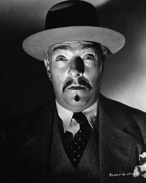 Oriental sleuth, Charlie Chan.