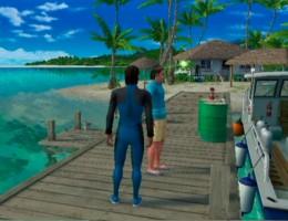 Home base - Nineball Island.
