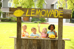 Have you ever sold or made a lemonade stand as a child?