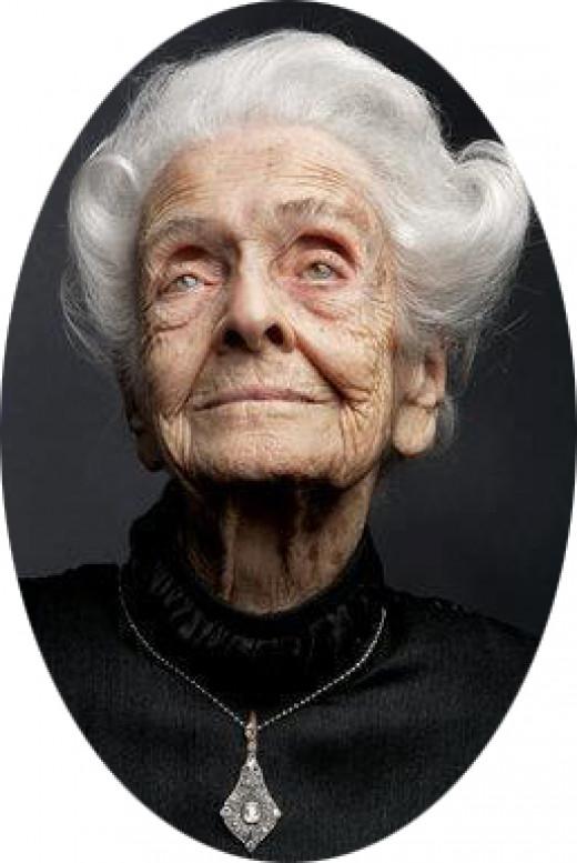 Rita-Levi Montalcini (Nobel Prize for Medicine in 1986) Jewish-Italian doctor