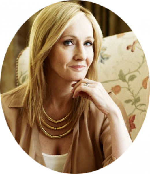 "J.K.Rowling (Joanne ""Jo"" Rowling) best known as the author of the Harry Potter series"