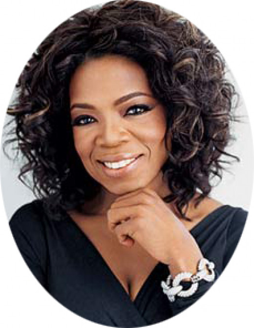 Oprah Gail Winfrey Former Talk Show host and CEO of Harpo Productions