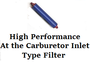 High Performance at the Carburetor Fuel Filter