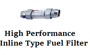 High Performance In-Line Fuel Filter