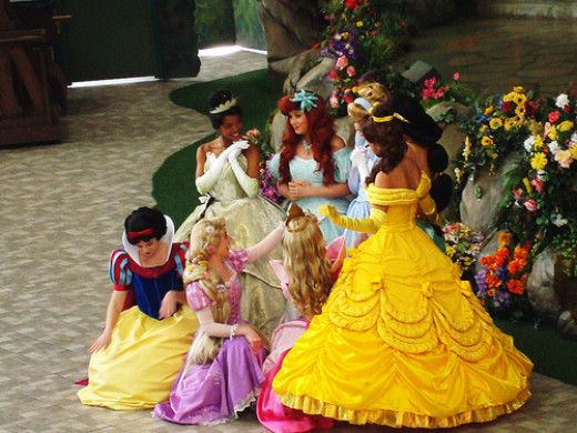 Though some parents think that princess culture is bad, some others embrace it, even as far as balancing reality and fantasy (and teaching girls to do so).