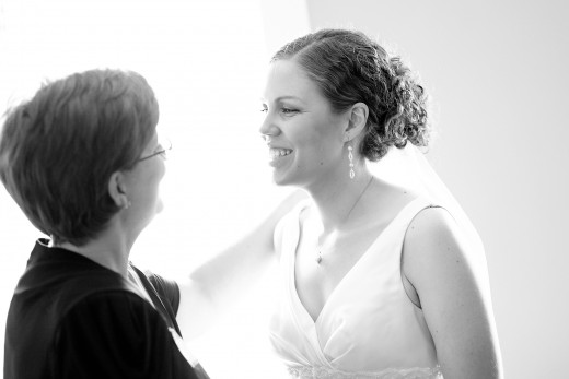 Mom saying I love you before I get married.