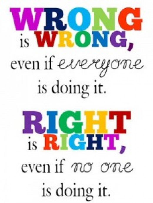 Knowing the One who is righteous helps me know what is right and what is wrong.  This is part of making good choices.